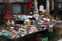 Car boot sale Royalty Free Stock Image