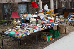 Car boot sale Stock Photo