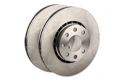 Car brake disc Stock Image
