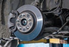 Car brake disc Stock Image