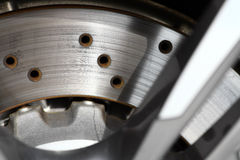 Car brake disc Royalty Free Stock Photos