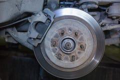 Car brake disc Royalty Free Stock Images