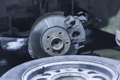 Car brake disc Stock Photography