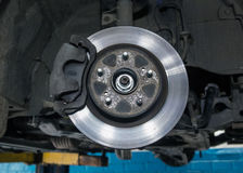 Car brake disc Royalty Free Stock Photography