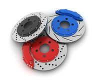 Car brake disk Royalty Free Stock Images
