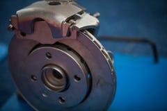 Car brake disk and caliper Stock Image