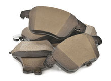 Car brake pads Stock Image