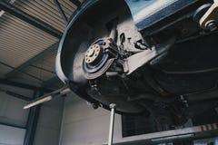 Car brake prepair. In the service Royalty Free Stock Image