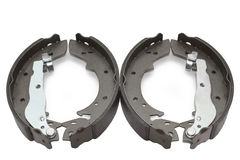 Car brake shoes Stock Photos
