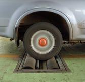 Car brake testing system Stock Images