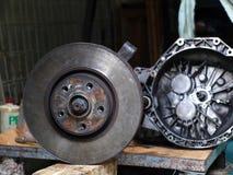 Car brakes Stock Photography
