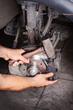 Car Brakes Change Stock Images