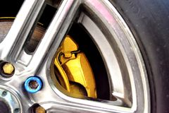 Car brakes Stock Photos