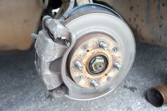 Car brakes Stock Photography