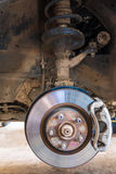 Car brakes system Stock Images