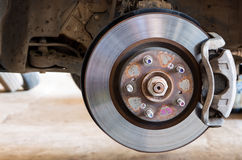 Car brakes system Royalty Free Stock Photo