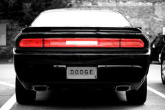 Car brand Dodge royalty free stock photo