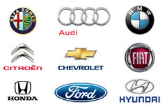Car brands 1 Stock Images