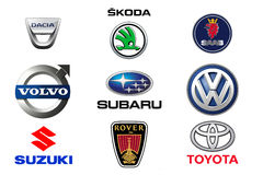 Car brands 3 Stock Photos