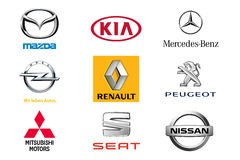 Car brands 2 Stock Photography