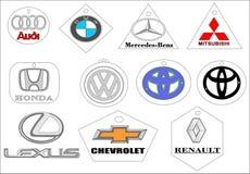 Car brands emblem logo stock photos