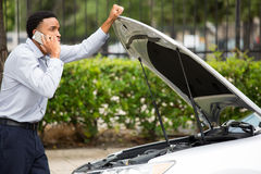 Car break down Stock Photography