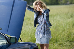 Car Breakdown Royalty Free Stock Image