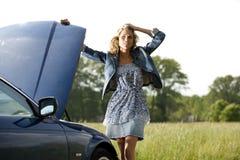 Car Breakdown Royalty Free Stock Photography