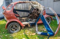 Car breakdown. The car breakdown, KMUTT Thailand Royalty Free Stock Photo