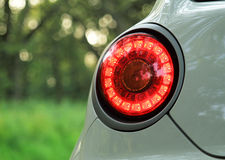 Car breaklight Stock Images