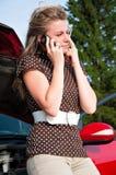 Car breaks down Royalty Free Stock Image