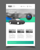 Car brochure. Auto Leaflet Brochure Flyer template A4 size desig. N, car repair business catalogue cover layout design, Abstract presentation template vector illustration