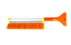 Car brush isolated on white background Stock Images