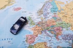 Car budget for travel. In Europe Stock Image