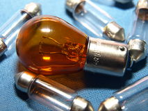 Car bulbs Stock Photography