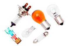 Free Car Bulbs And Fuses. Stock Images - 22827704
