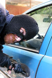 Car burglary Royalty Free Stock Image