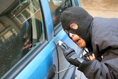 Car burglary Royalty Free Stock Images