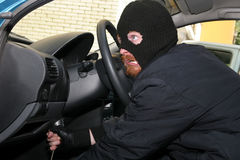 Car burglary Stock Photography