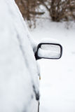 Car buried in snow Stock Photography