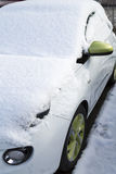 Car buried under snow Stock Photography