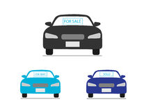 Car business icons Stock Photo