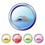 Car button Royalty Free Stock Images