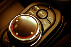 Car buttons detail Royalty Free Stock Image