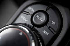 Car buttons detail Stock Photo