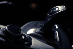 Car buttons detail Stock Photos