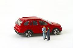 Car Buying Royalty Free Stock Photos