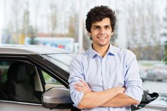 Car buying Stock Photography