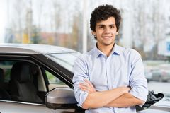 Car buying Royalty Free Stock Images