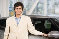 Car buying Stock Images